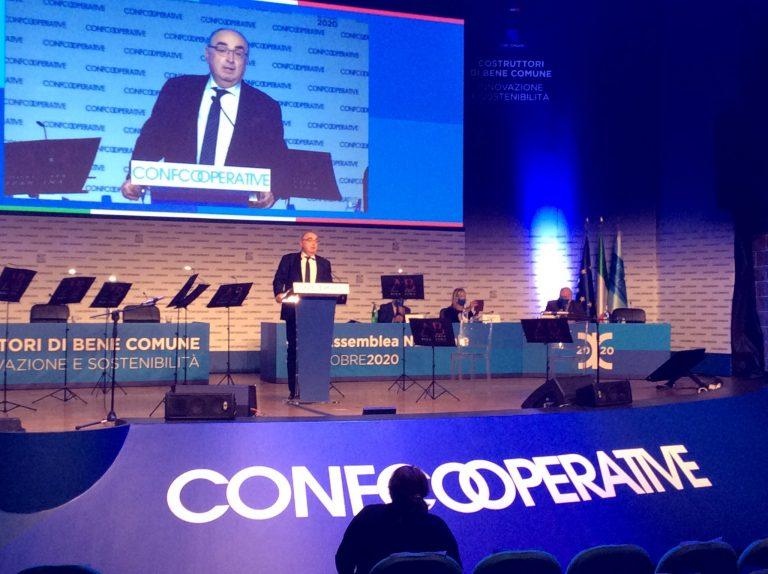 Gardini riconfermato alla presidenza di Confcooperative
