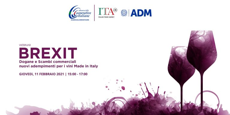 Webinar BREXIT e nuovi adempimenti per i vini italiani