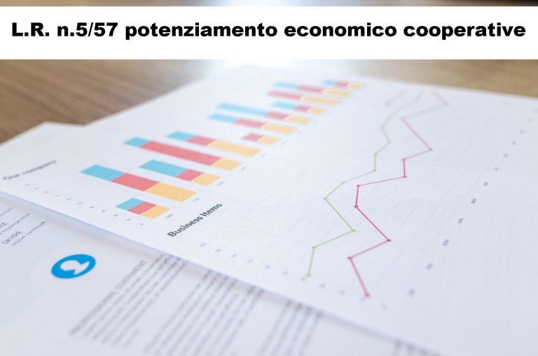 """Dal 1 aprile domande per aiuti """"de minimis"""" L.R. n.5/57 Cooperative e Consorzi di Cooperative"""