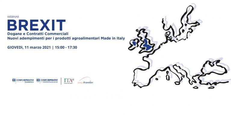 """Webinar """"Dogane e Contratti Commerciali – Nuovi adempimenti per i prodotti agroalimentari Made in Italy"""""""