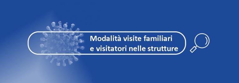 Ordinanza Ministero Salute modalità visite nelle strutture