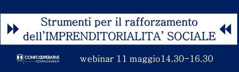 Webinar sul settore sociale martedì 11 maggio