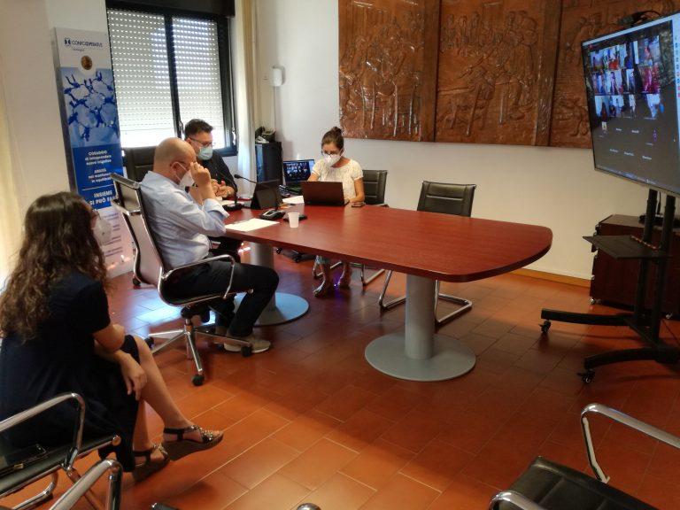 """Bagno di folla """"virtuale"""" per l'evento di lancio del Servizio Civile Universale Confcooperative Sardegna"""
