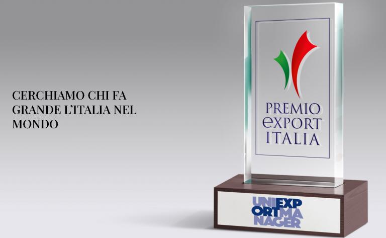 """Presentato il """"Premio Export Italia"""""""