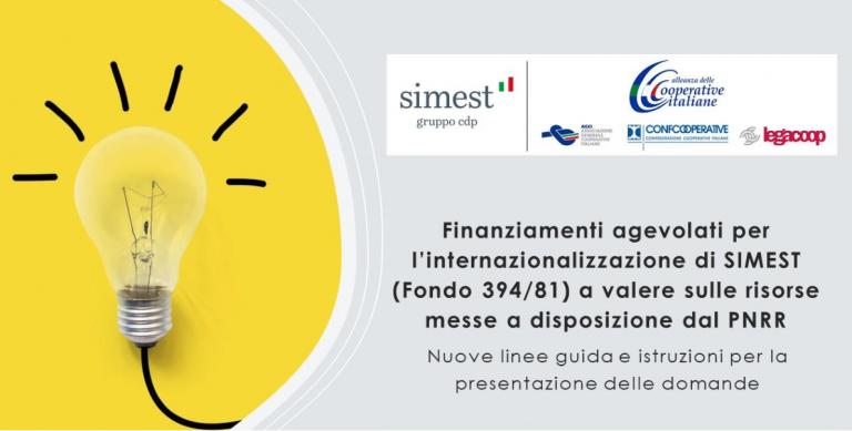 Webinar sui nuovi finanziamenti agevolati SIMEST
